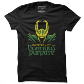 Glorious Purpose - Marvel Official T-shirt