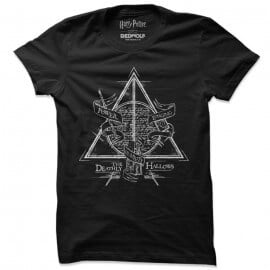 Deathly Hallows - Harry Potter Official T-shirt