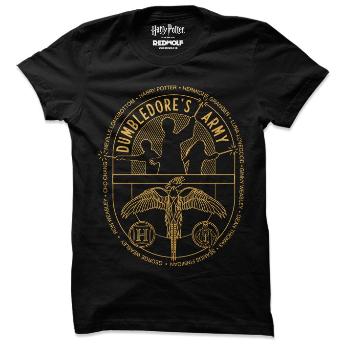 Dumbledore's Army - Harry Potter Official T-shirt