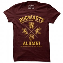 Harry Potter: Alumni Pride - Harry Potter Official T-shirt