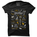 Harry Potter: Infographic - Harry Potter Official T-shirt