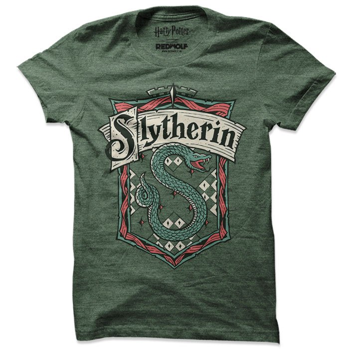 Slytherin Crest - Harry Potter Official T-shirt