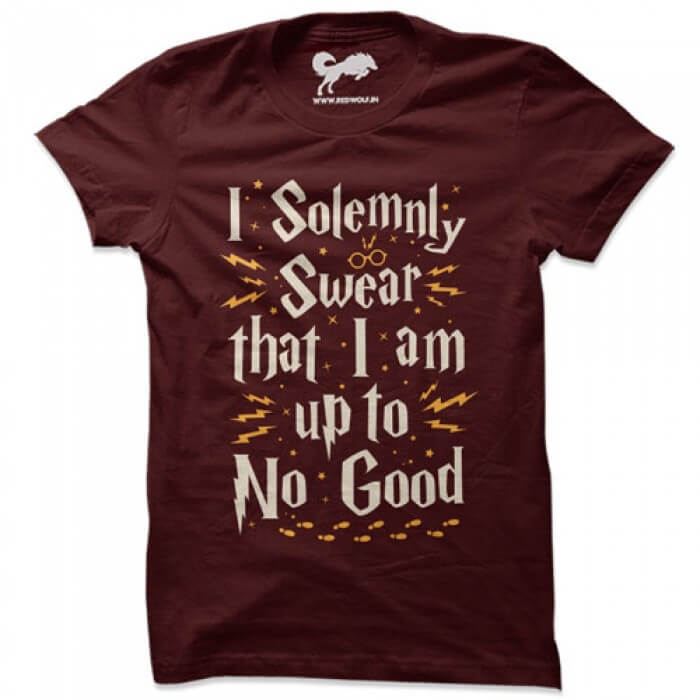 513932fd4 I Solemnly Swear That I Am Up To No Good | Redwolf