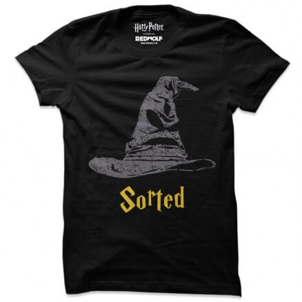 Sorted - Harry Potter Official T-shirt