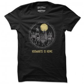 Hogwarts Is Home - Harry Potter Official T-shirt