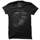House Stark Sigil Splatter - Game Of Thrones Official T-shirt