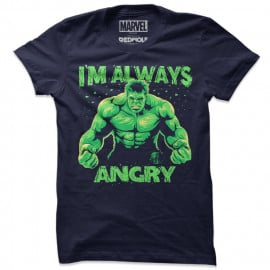 I'm Always Angry - Marvel Official T-shirt