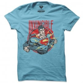 Invincible Superman - Superman Official T-shirt