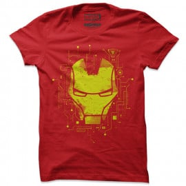 Iron Man: Interface - Marvel Official T-shirt