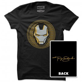 Iron Man Signature - Marvel Official T-shirt