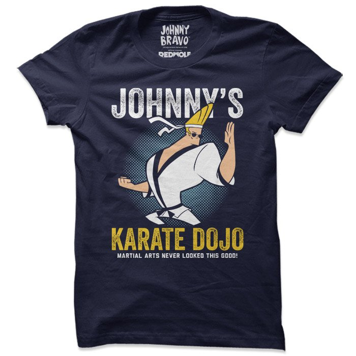 Karate Dojo - Johnny Bravo Official T-shirt