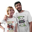 Couple Tees: Joker And Harley - DC Comics Official T-shirt