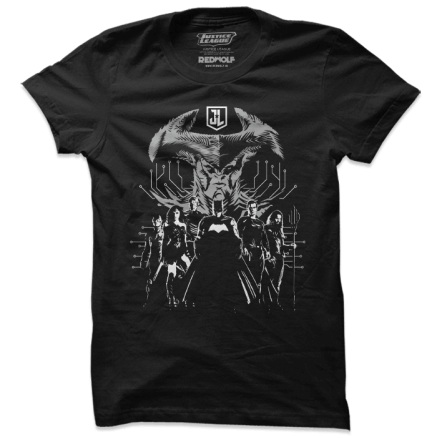 Justice League Vs Steppenwolf - Justice League Official T-shirt