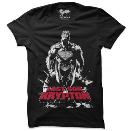 Last Son Of Krypton - Superman Official T-shirt