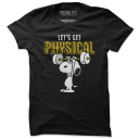 Let's Get Physical - Peanuts Official T-shirt