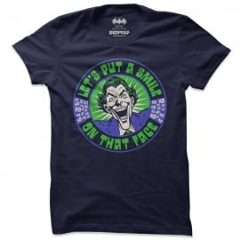 Let's Put A Smile - Joker Official T-shirt
