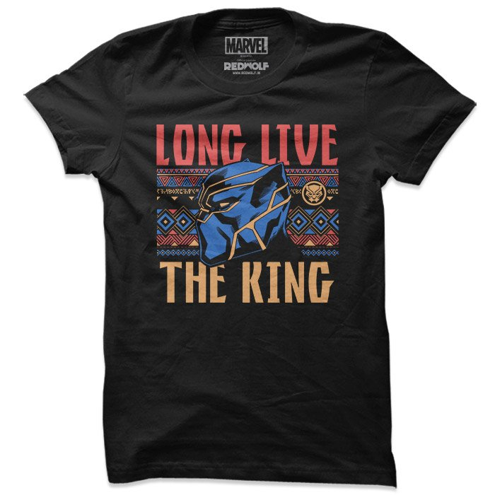 Long Live The King - Marvel Official T-shirt