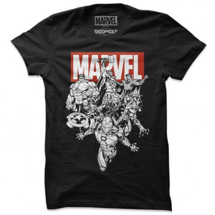 Avengers: Classic - Marvel Official T-shirt