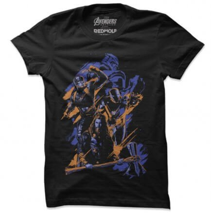 Final Battle - Marvel Official T-shirt