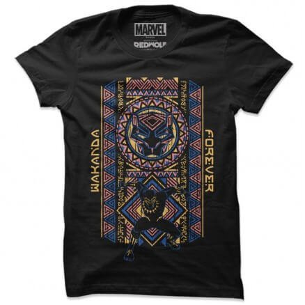 Tribal Art - Marvel Official T-shirt