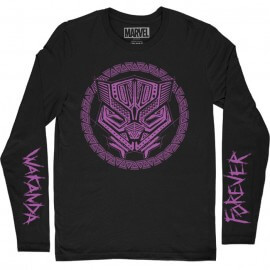 Wakanda Forever - Marvel Official Full Sleeves T-shirt