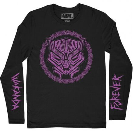 Wakanda Forever - Marvel Official Full Sleeve T-shirt