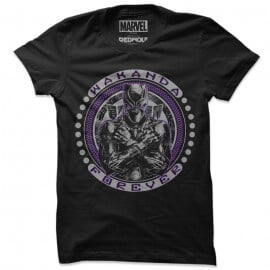 Wakanda Forever - Marvel Official T-shirt