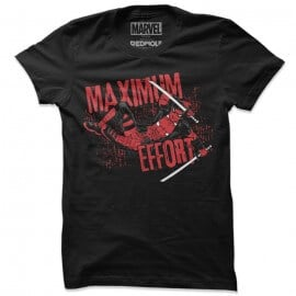 Maximum Effort - Marvel Official T-shirt
