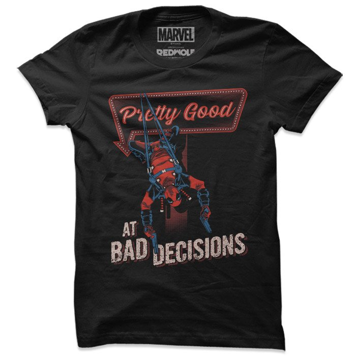 Bad Decisions - Marvel Official T-shirt