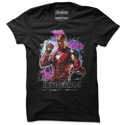 I Am Iron Man - Marvel Official T-shirt