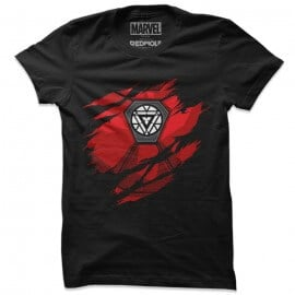 Iron Man: Chest Piece - Marvel Official T-shirt