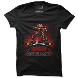 Iron Man: Invincible Warrior - Marvel Official T-shirt