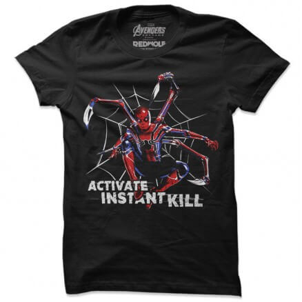 Iron Spider: Activate Instant Kill - Marvel Official T-shirt