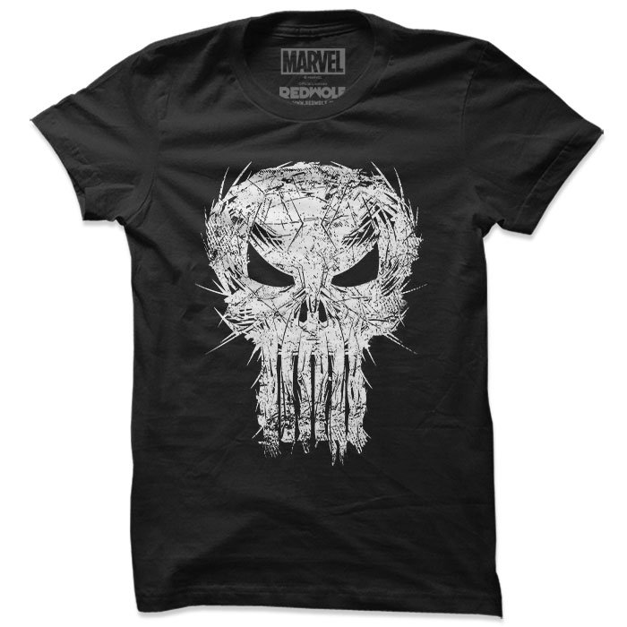 The Big Bad Punisher - Marvel Official T-shirt