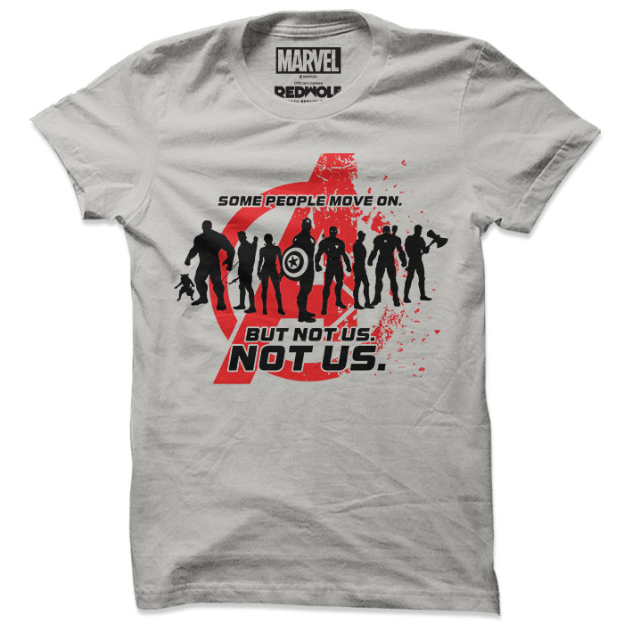 Some People Move On - Marvel Official T-shirt