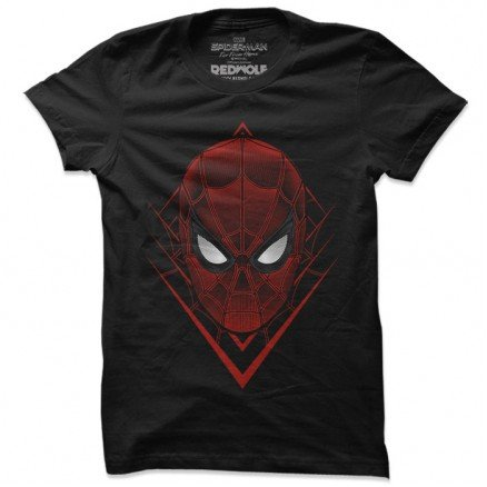 Spider-Man Mask - Marvel Official T-shirt