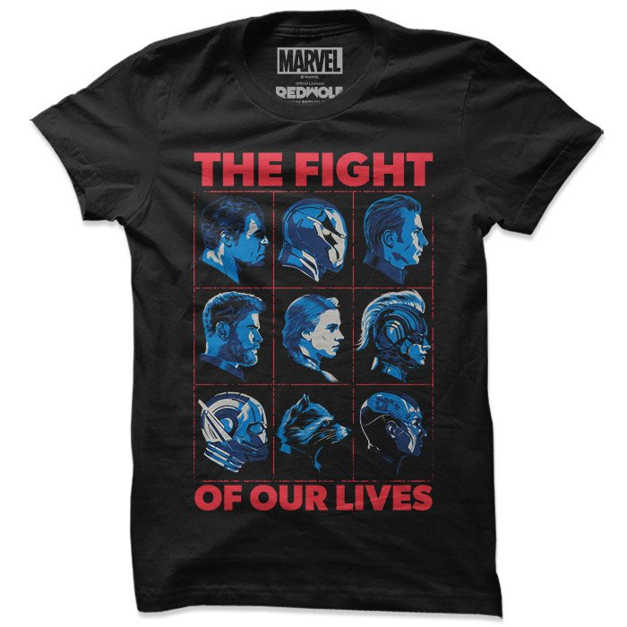 The Fight Of Our Lives - Marvel Official T-shirt