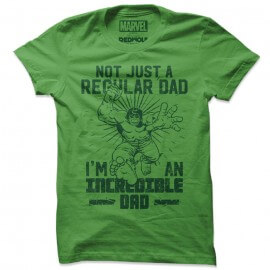 The Incredible Dad - Marvel Official T-shirt