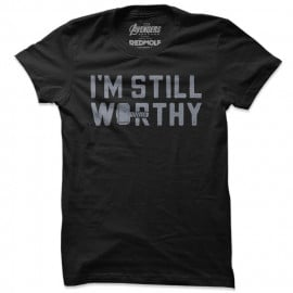 I'm Still Worthy - Marvel Official T-shirt