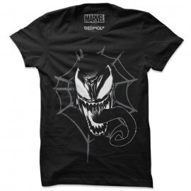 Venom Mask - Marvel Official T-shirt