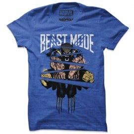 Wolverine: Beast Mode - Marvel Official T-shirt