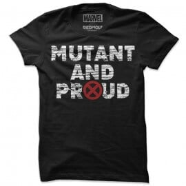 Mutant And Proud - Marvel Official T-shirt