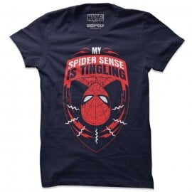 My Spider Sense Is Tingling - Marvel Official T-shirt