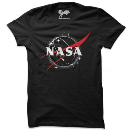 NASA Eclipse Logo - NASA Official T-shirt