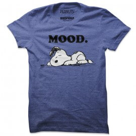 Mood - Peanuts Official T-shirt