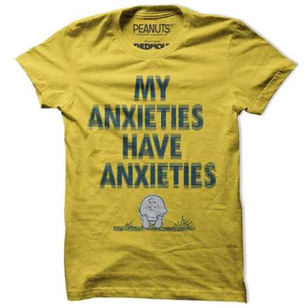 My Anxieties Have Anxieties  - Peanuts Official T-shirt
