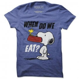 When Do We Eat - Peanuts Official T-shirt