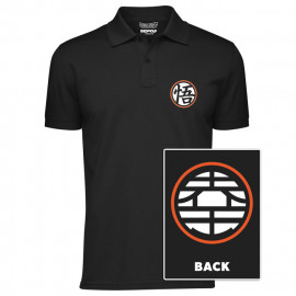 King Kai Kanji - Dragon Ball Z Official Polo T-shirt
