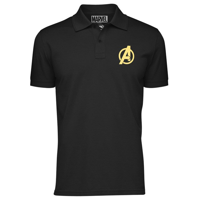 Avengers Logo - Marvel Official Polo T-shirt