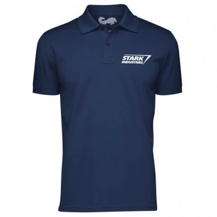 Stark Industries Logo - Marvel Official Polo T-shirt